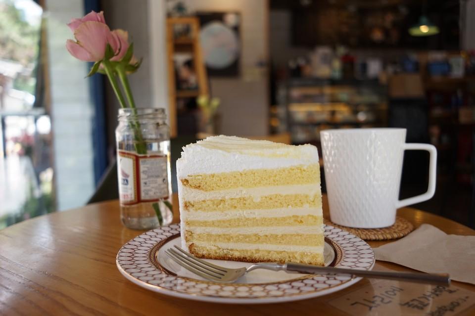 밀푀유 케이크